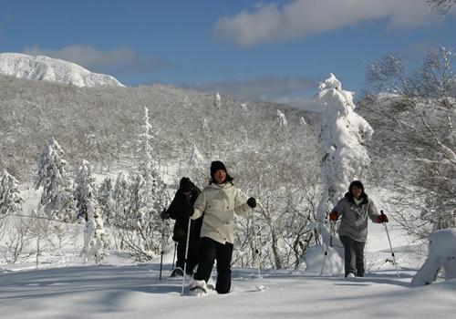 スノーシュー・樹氷ウォッチング